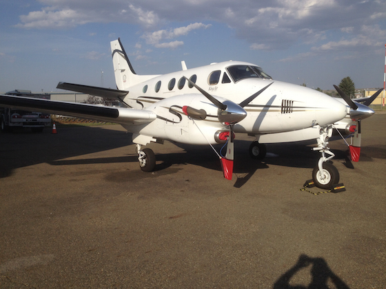 Seed 7: King Air, taken by Darin Langerud, Director
