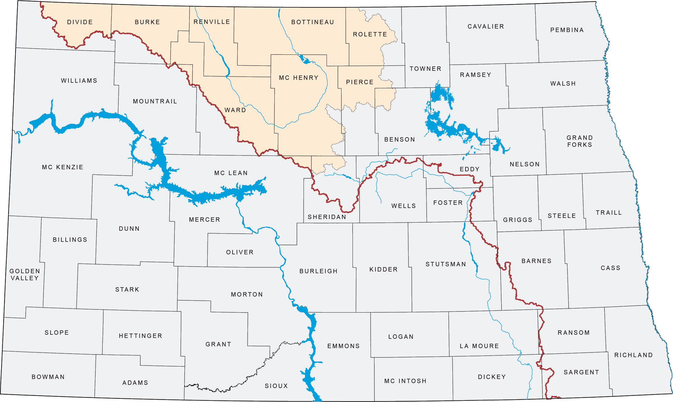Mouse/Souris River Basin